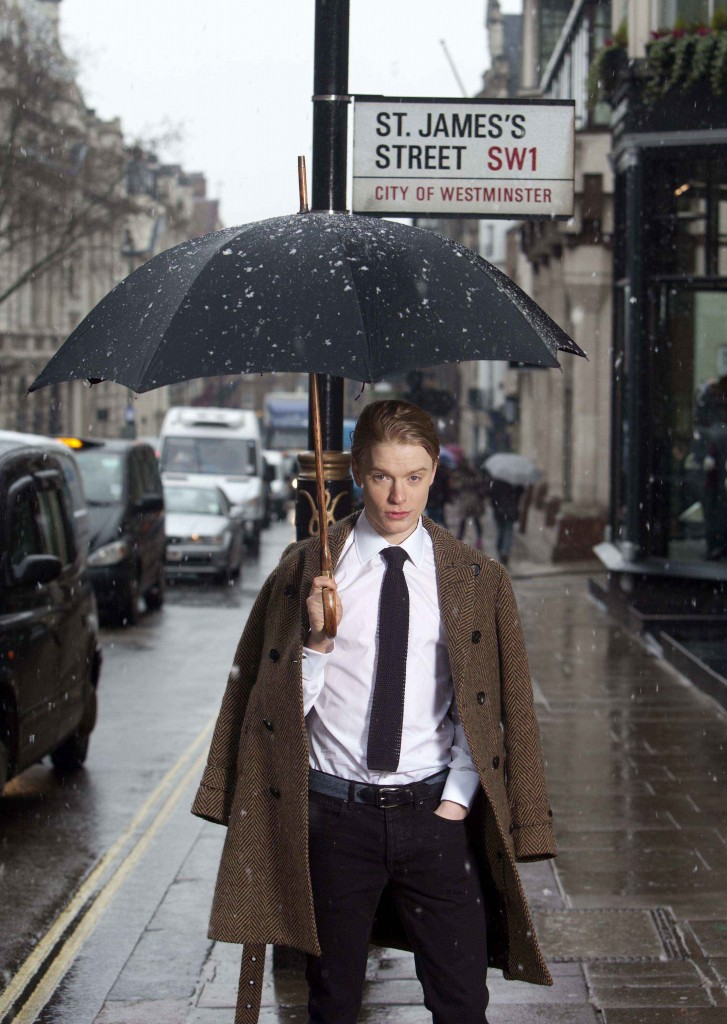 Freddie Fox in St James's London