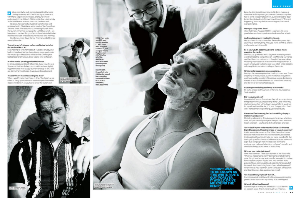 David Gandy ShortList 2013 (2)