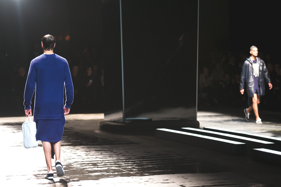 Christopher Shannon AW14 (Image: Dan Sims, BFC)