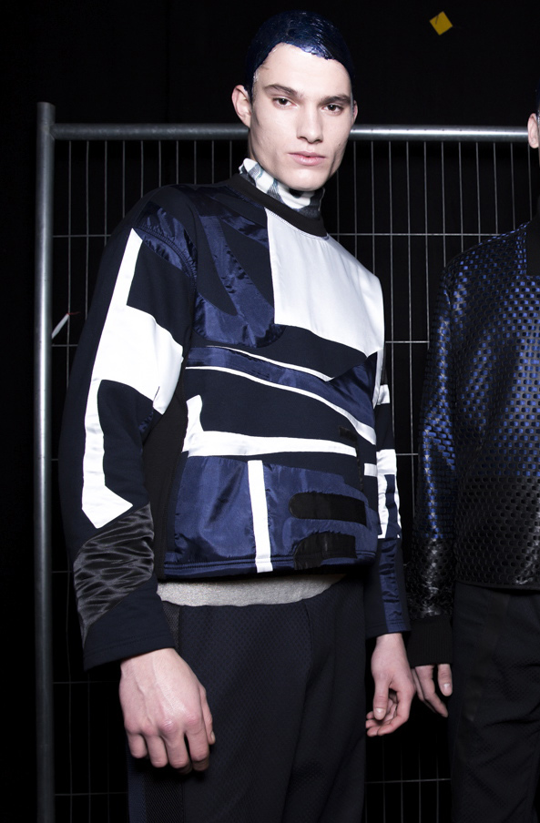 James Long AW14, backstage (Image: Sam Wilson, BFC)