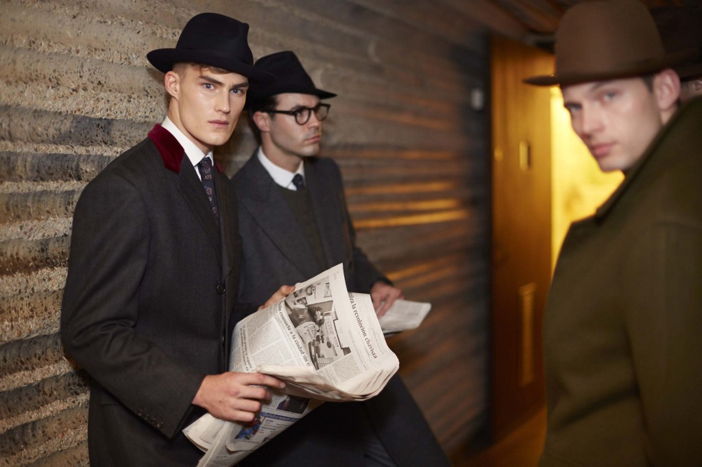 Savile Row, Woolmark & St. James's AW14 (Image: Shaun James Cox, BFC)