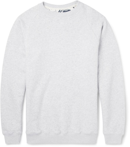 Hentsch Man for MR PORTER grey sweatshirt