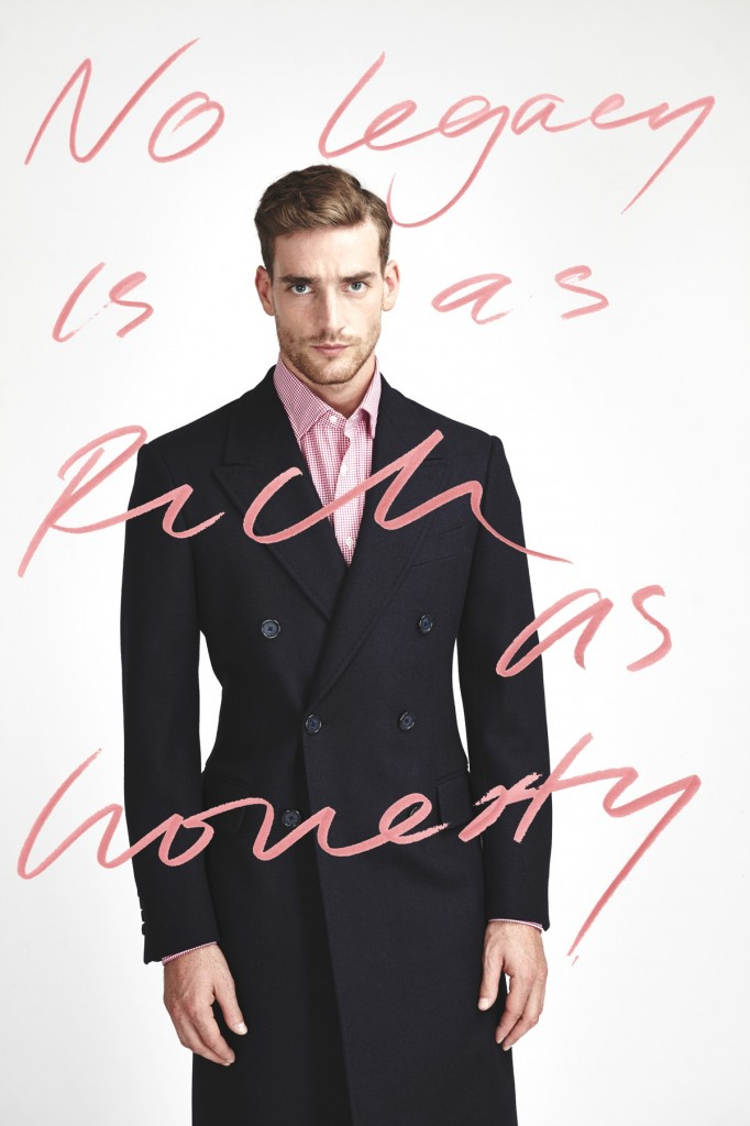 £001 &W black coat 1