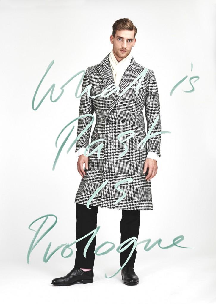 £002 &w check coat 2