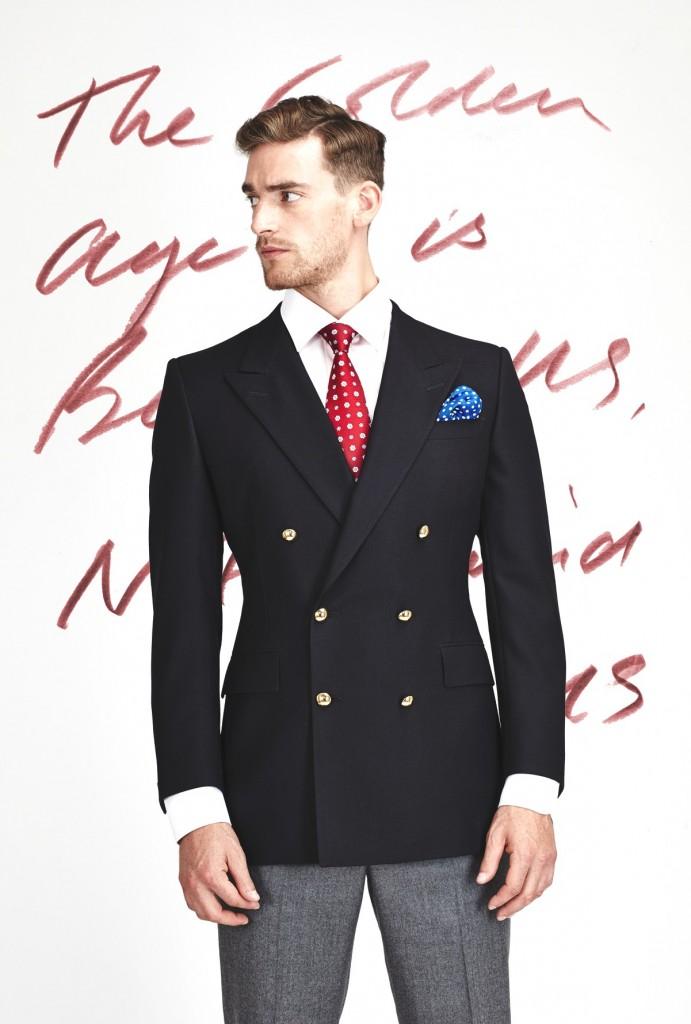 £008 &W blazer 1