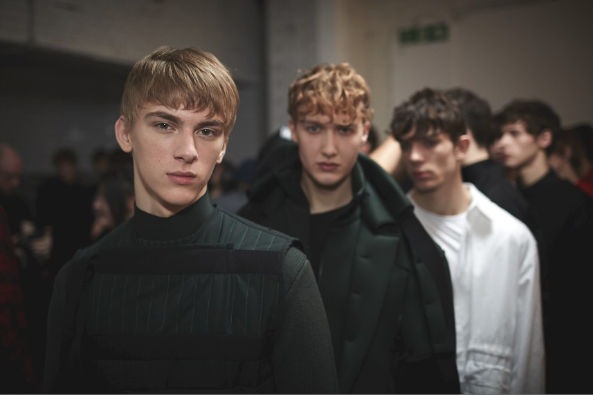 Craig Green AW15, backstage (Shaun James Cox, British Fashion Council) 9