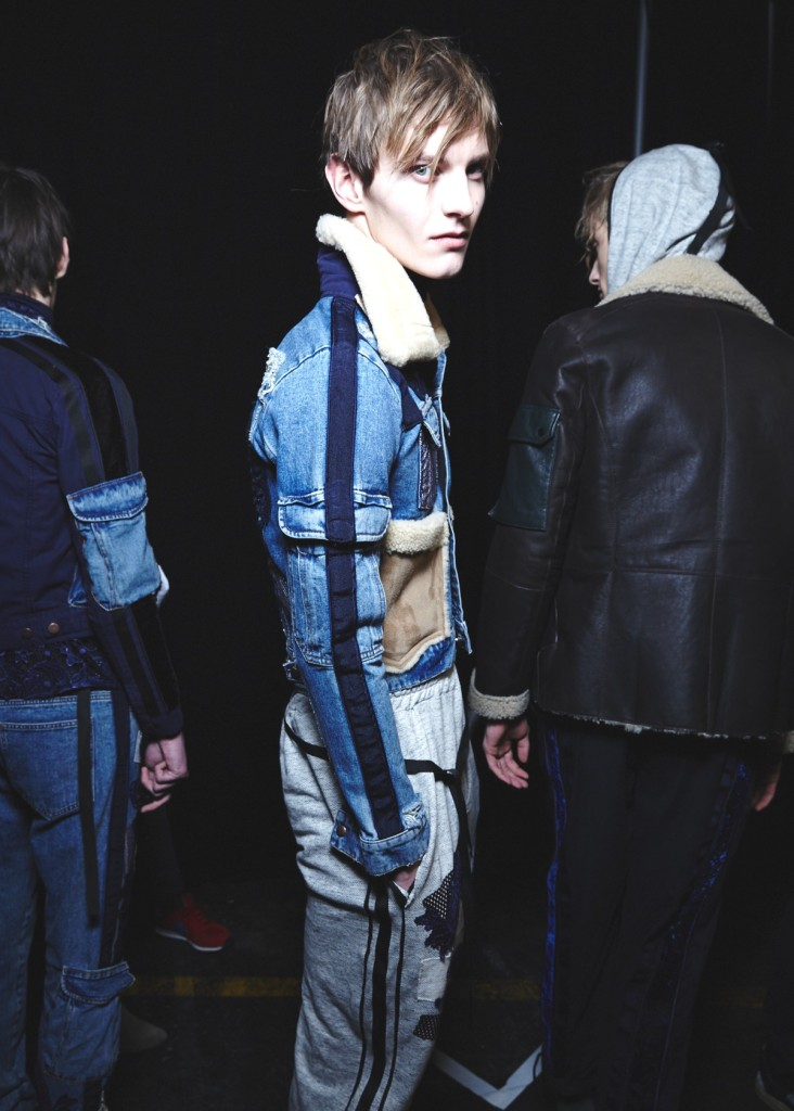 James Long AW15, backstage (Sam Wilson, British Fashion Council) 4