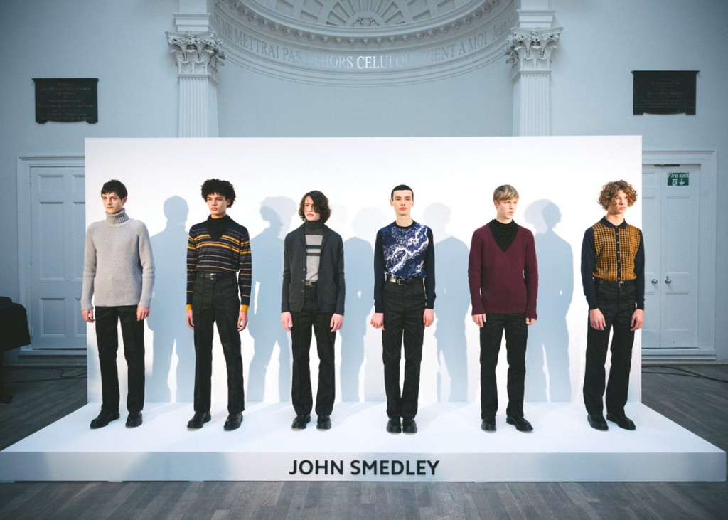 John Smedley AW15 (Kensington Leverne, British Fashion Council) 2