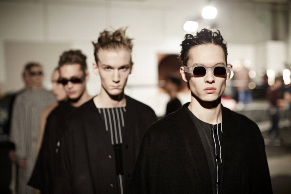 MAN AW15, backstage (Shaun James Cox, British Fashion Council) 11