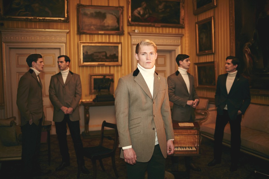 Savile Row, St. James's & Woolmark AW15 (Shaun James Cox, British Fashion Council) 1