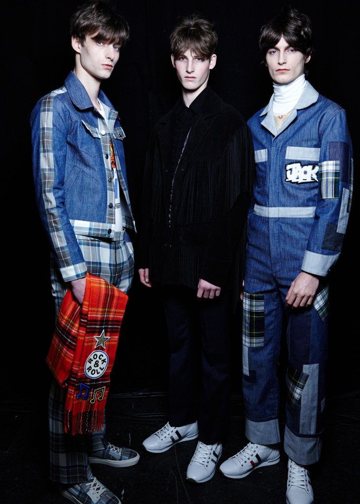 TOPMAN Design AW15, backstage (Sam Wilson, British Fashion Council) 8
