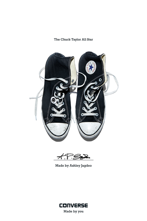 Ashley Jagdeo - Converse Sneaker Portrait