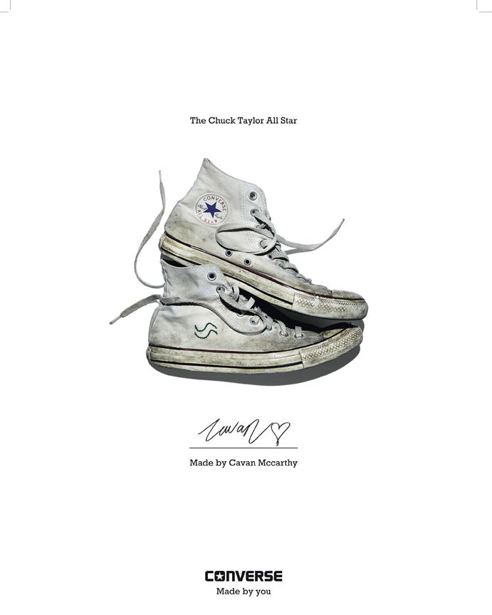 Cavan McCarthy - Converse Sneaker Portrait