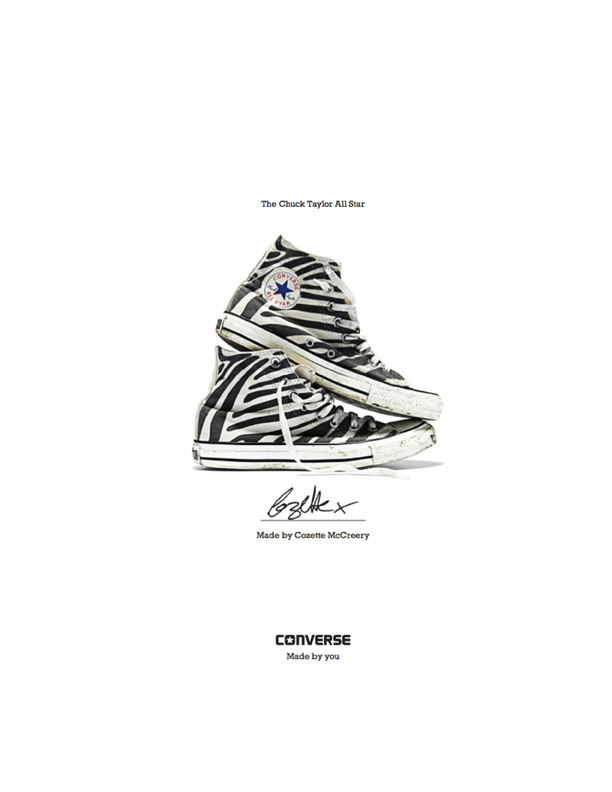 Cozette McCreery - Converse Sneaker Portrait