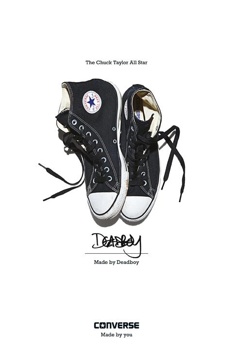 Deadboy - Converse Sneaker Portrait