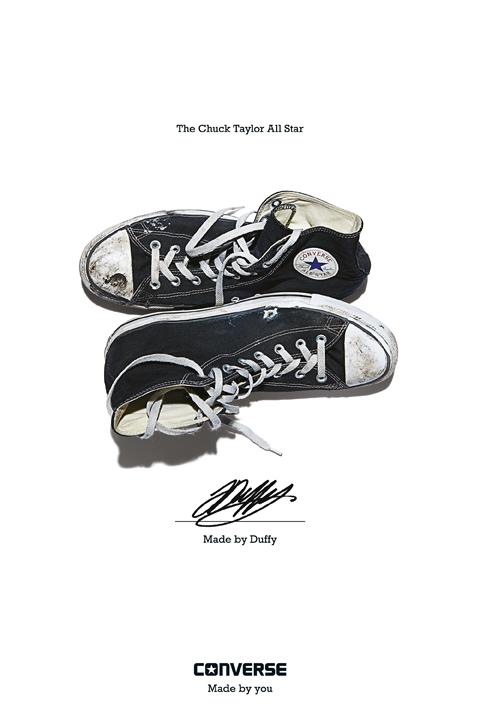 Duffy - Converse Sneaker Portrait