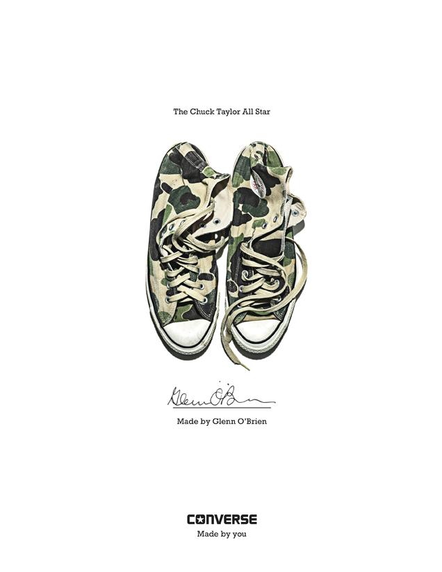 Glenn O'Brien - Converse Sneaker Portrait