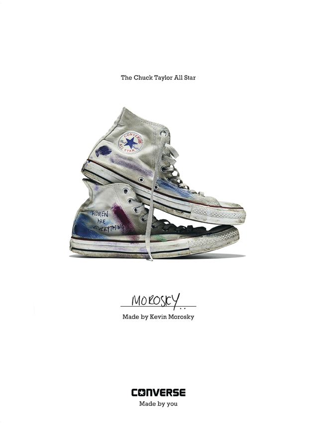 Kevin Morosky - Converse Sneaker Portrait