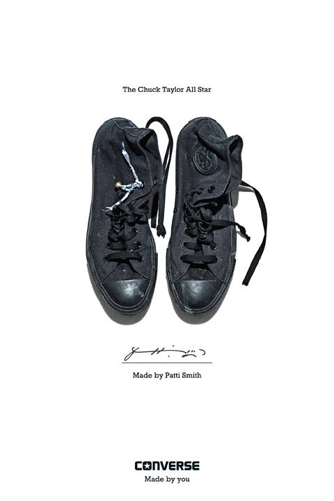 Patti Smith - Converse Sneaker Portrait