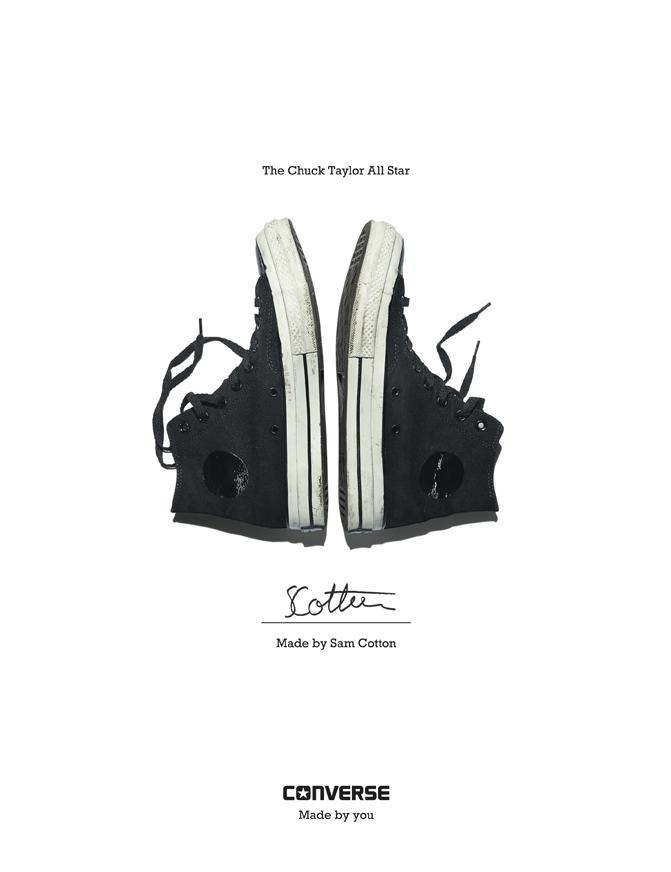 Sam Cotton - Converse Sneaker Portrait