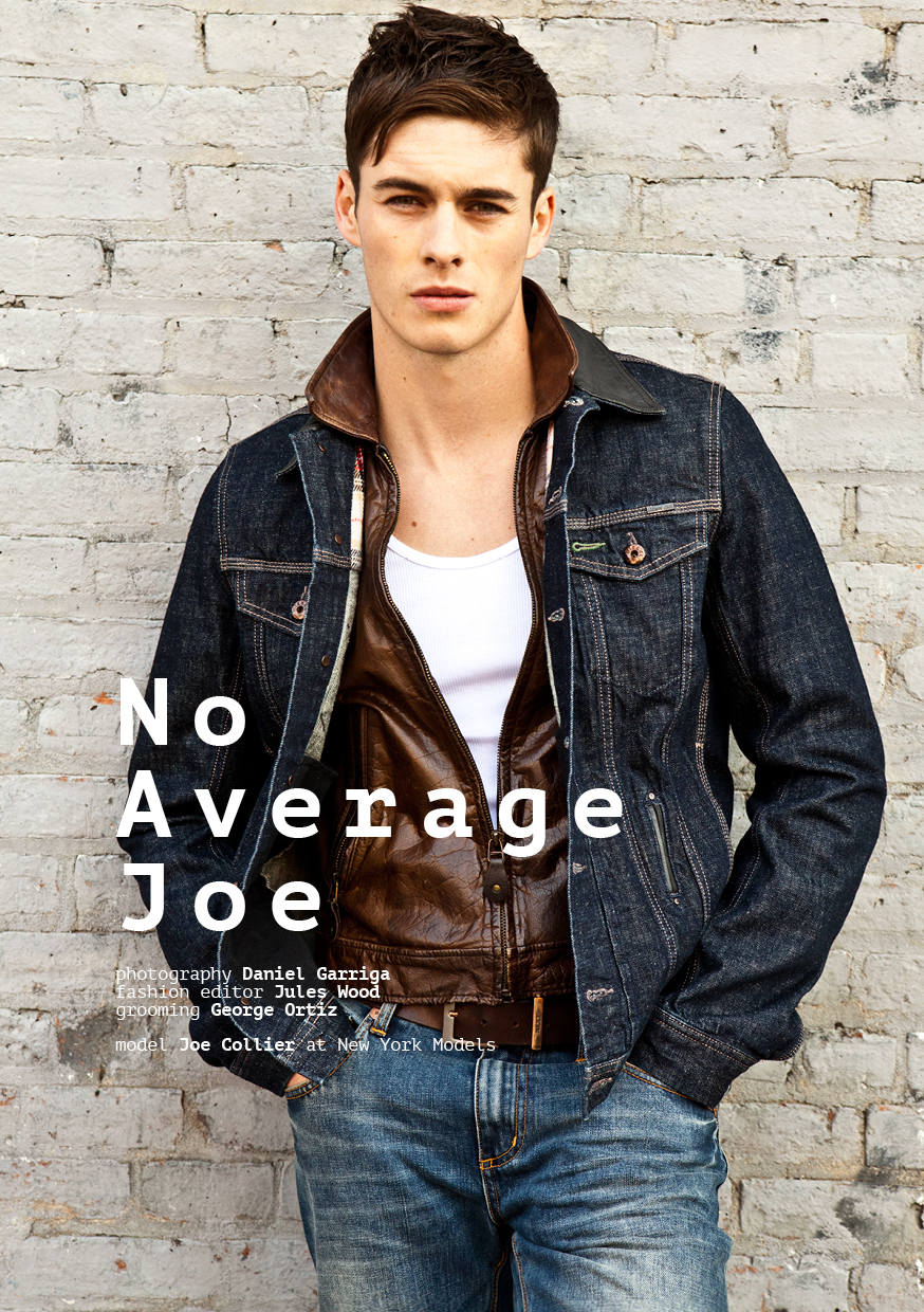 Joe collier at new york models by daniel garriga for for New york models