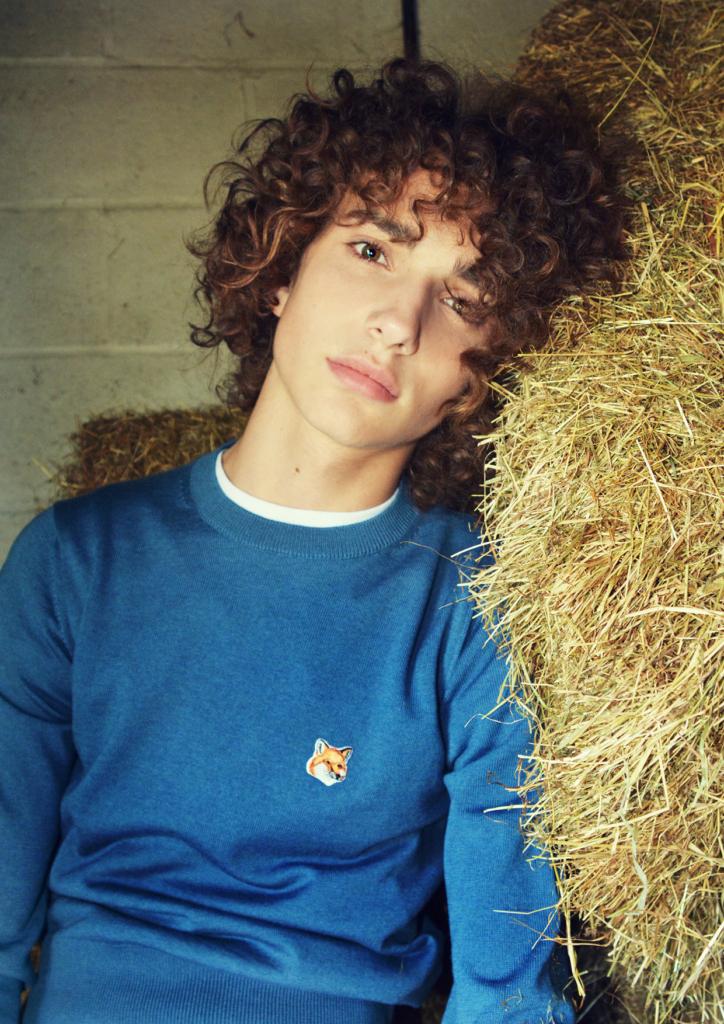 Matthew Clavane At D1 Models By Fujiko Mine For