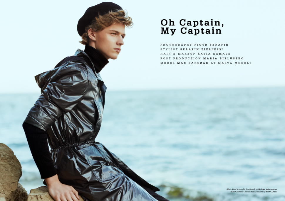 f57a29dc5c589 Max Barczak at Malva Models by Piotr Serafin for Yearbook #11 ...