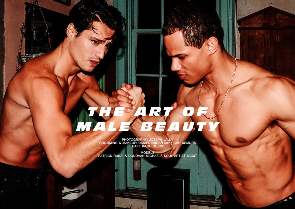 d59363dbb18 The Art of Male Beauty by Joseph Lally #NSFW | Client Magazine