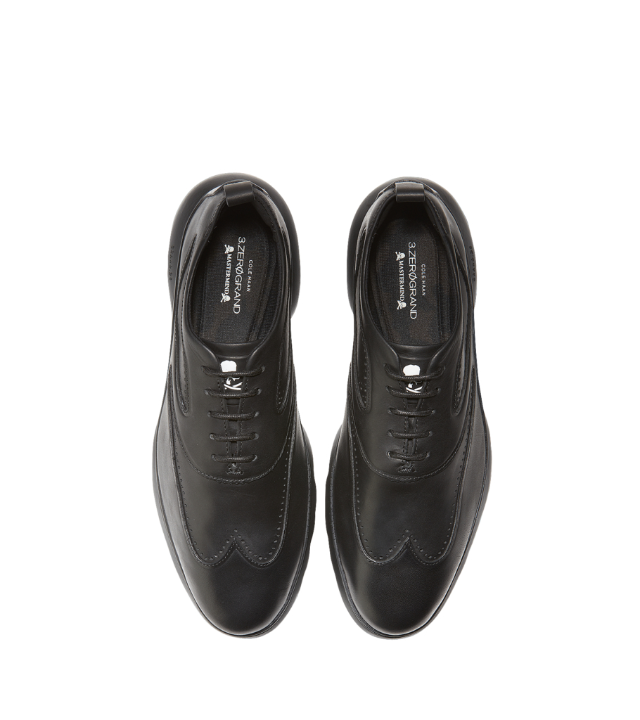 c94371942fe Cole Haan × Mastermind 3.ZERØGRAND Wingtip Oxford will be available at  Selfridges Oxford Street exclusively.