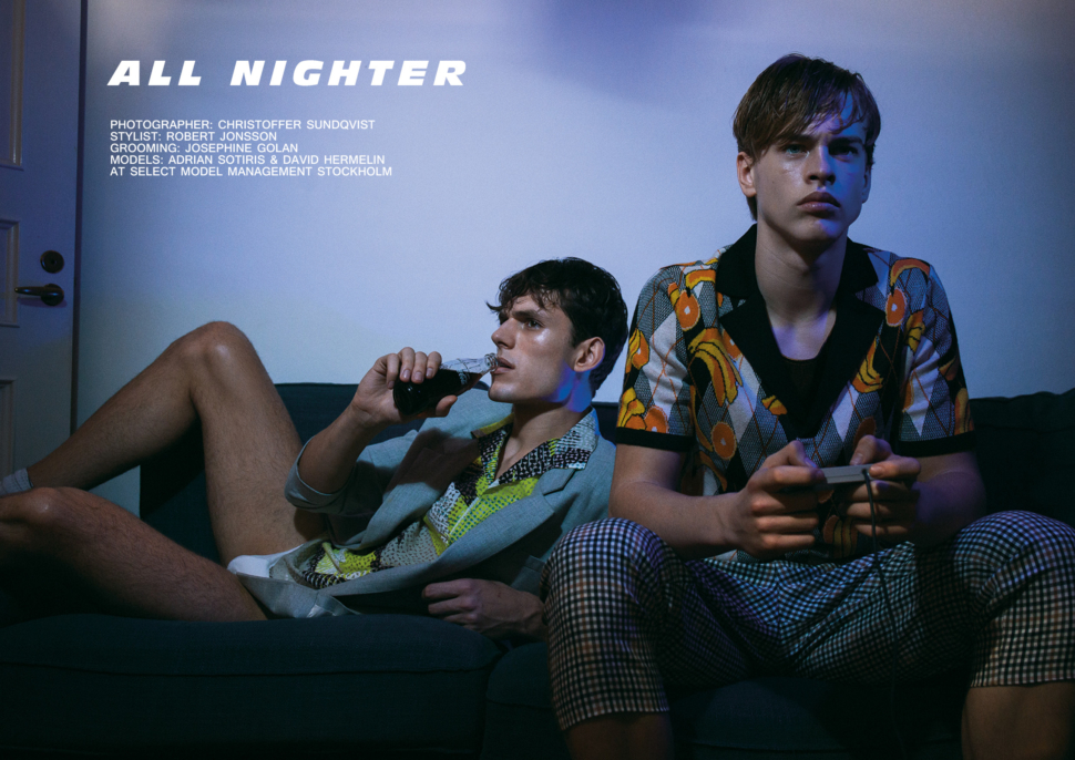 All Nighter by Christoffer Sundqvist for Client Online